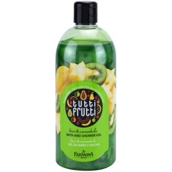 Farmona Tutti Frutti Kiwi & Carambola sprchový a kúpeľový gél