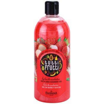 Farmona Tutti Frutti Lychee & Rambutan żel do kąpieli i pod prysznic