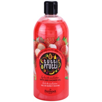 Farmona Tutti Frutti Lychee & Rambutan gel de dus si baie