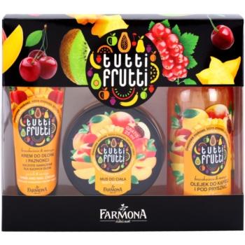 Farmona Tutti Frutti Peach & Mango Kosmetik-Set  I.