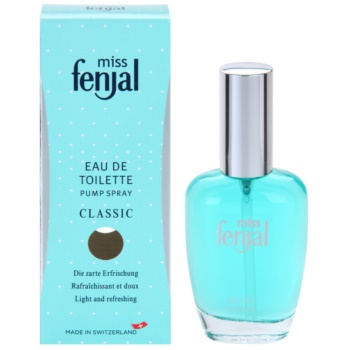 Fenjal Miss Classic Eau de Toilette for Women  With atomizer