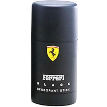 Ferrari Ferrari Black deostick pentru barbati 75 ml