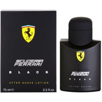 Ferrari Scuderia Ferrari Black After Shave balsam pentru barbati 75 ml