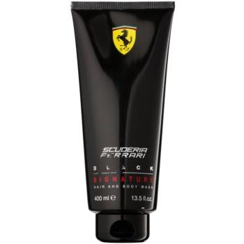 Ferrari Scuderia Ferrari Black gel de dus pentru barbati