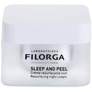 Filorga Sleep & Peel crema de noapte cu efect de anti imbatranire lumineaza si catifeleaza pielea