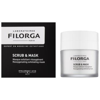 Filorga Medi-Cosmetique Scrub&Mask máscara esfoliante oxidante para renovação de células cutâneas 1