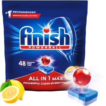 Finish All in 1 Max Lemon tablete pentru ma?ina de spãlat vase imagine produs