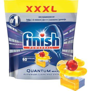 Finish Quantum Max Lemon tablete pentru mașina de spălat vase
