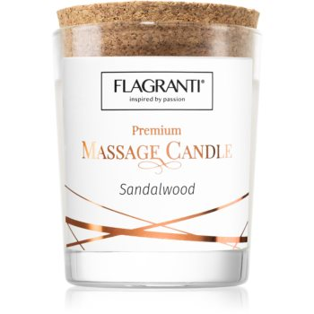Flagranti Massage Candle Sandal Wood Massagekerze 70 ml
