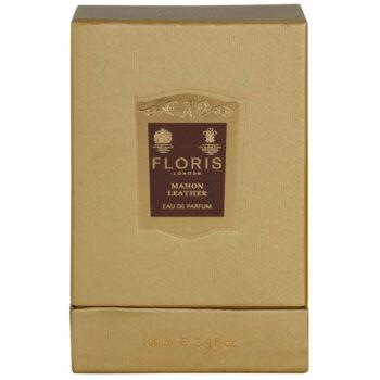 Floris Mahon Leather парфумована вода для чоловіків 4