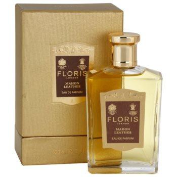 Floris Mahon Leather парфумована вода для чоловіків 1