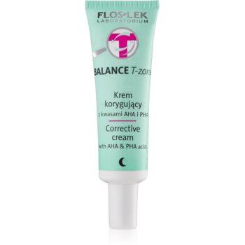 FlosLek Laboratorium Balance T-Zone noční korekční krém pro smíšenou pleť 50 ml