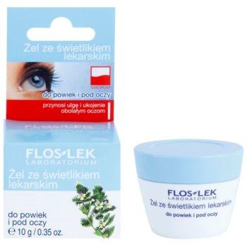 FlosLek Laboratorium Eye Care gel para o contorno dos olhos com eufrásia 1