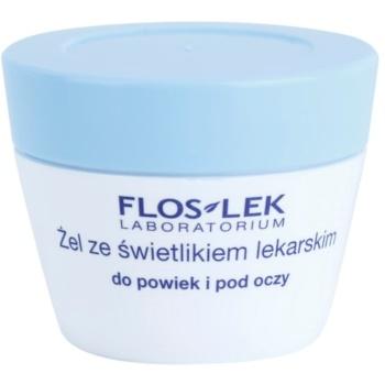FlosLek Laboratorium Eye Care Gel pentru jurul ochilor cu unl luminator
