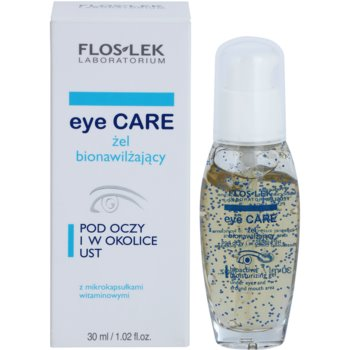 FlosLek Laboratorium Eye Care gel hidratante bioactivo para o contorno dos olhos e lábios 2