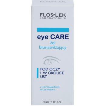 FlosLek Laboratorium Eye Care gel hidratante bioactivo para o contorno dos olhos e lábios 3