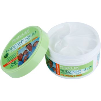 FlosLek Laboratorium Family könnyű hidratáló krém arcra és testre 1