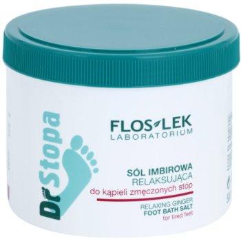FlosLek Laboratorium Foot Therapy gyömbéres relaxációs fürdősó a lábakra