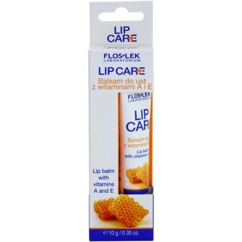 FlosLek Laboratorium Lip Care balzam za ustnice z vitaminoma A in E 1