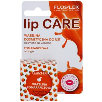 FlosLek Laboratorium Lip Care Orange Vaseline für Lippen 2