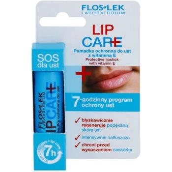 FlosLek Laboratorium Lip Care SOS ochranný balzám na rty s vitamínem E 4