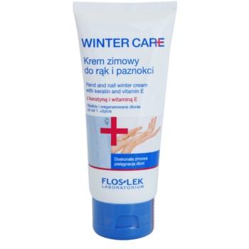 FlosLek Laboratorium Winter Care zimní ochranný krém na ruce a nehty