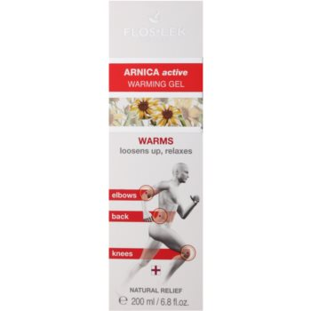 FlosLek Pharma Arnica Active затоплящ гел за релаксация на мускултеи и ставите 2