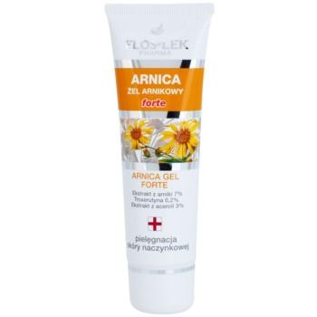 FlosLek Pharma Arnica Forte gel calmant pentru pielea predispusă la roseata