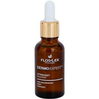 FlosLek Pharma DermoExpert Concentrate ser cu efect de lifting pentru fata, gat si piept