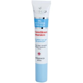 FlosLek Pharma Eye Care гель для шкіри навколо очей з очанкою лікарською