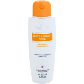 FlosLek Pharma White & Beauty tonic cu efect de albire