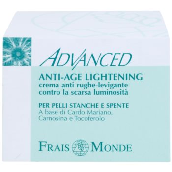 Frais Monde Advanced krema za posvetljevanje proti znakom staranja 2
