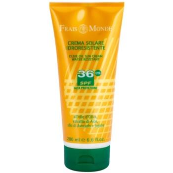 Frais Monde Sun водостійкий крем для засмаги SPF 36