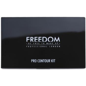 Freedom Pro Contour палетка для контурування 1
