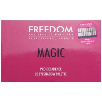 Freedom Pro Decadence Magic paleta cieni do powiek z aplikatorem 3
