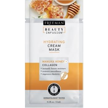 Freeman Beauty Infusion Manuka Honey + Collagen crema masca hidratanta pentru ten normal spre uscat