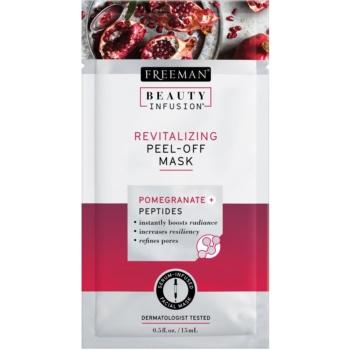 Freeman Beauty Infusion Pomegranate + Peptides masca revitalizanta pentru fata cu efect de peeling