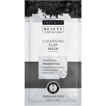 Freeman Beauty Infusion Charcoal + Probiotics masca facială pentru curatarea tenului
