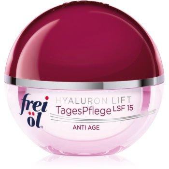 frei öl Anti Age Hyaluron Lift crema de zi pentru contur si fermitate SPF 15