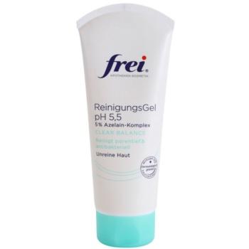 Frei Clear Balance gel de limpeza antibacteriano para poros dilatados