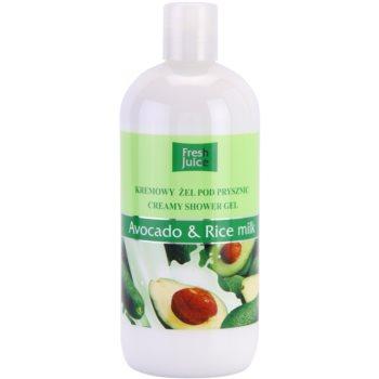 Fresh Juice Avocado & Rice cremiges Duschgel