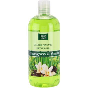 Fresh Juice Lemongrass & Vanilla гель для душу