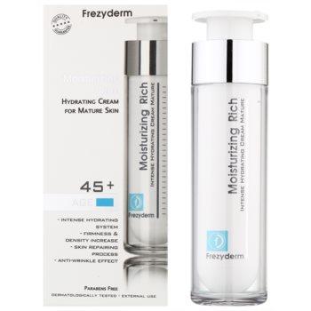 Frezyderm Moisturizing Rich хидратиращ крем с противобръчков ефект 45+ 1
