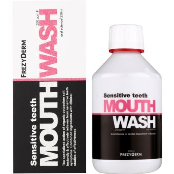Frezyderm Oral Science Sensitive Teeth Apa de gura pentru protectia completa a dintilor 2