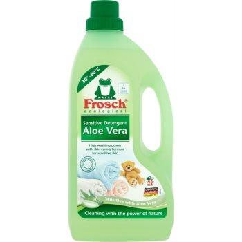 Frosch Sensitive Detergent Aloe Vera produs pentru rufe imagine produs
