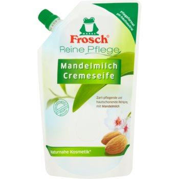Frosch Creme Soap Almond Milk sãpun lichid rezervã imagine produs