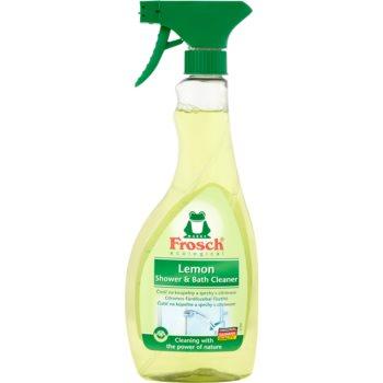 Frosch Shower & Bath Cleaner Lemon produs de curã?are pentru baie spray imagine produs