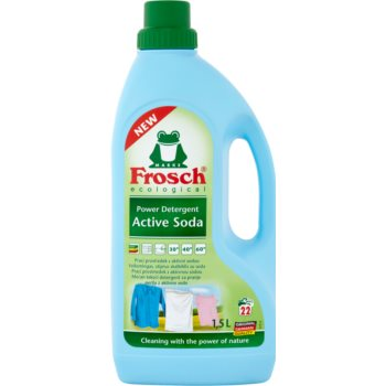 Frosch Power Detergent Active Soda produs pentru rufe imagine produs