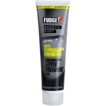 Fudge Smooth Shot condicionador hidratante para cabelo brilhante e macio