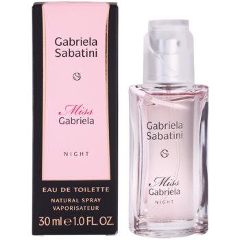 Gabriela Sabatini Miss Gabriela Night Eau de Toilette pentru femei